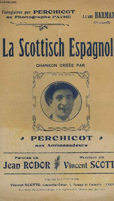 LA SCOTTISCH ESPAGNOLE - CHANT.