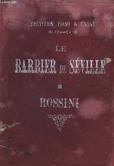 LE BARBIER DE SEVILLE - PIANO + CHANT.