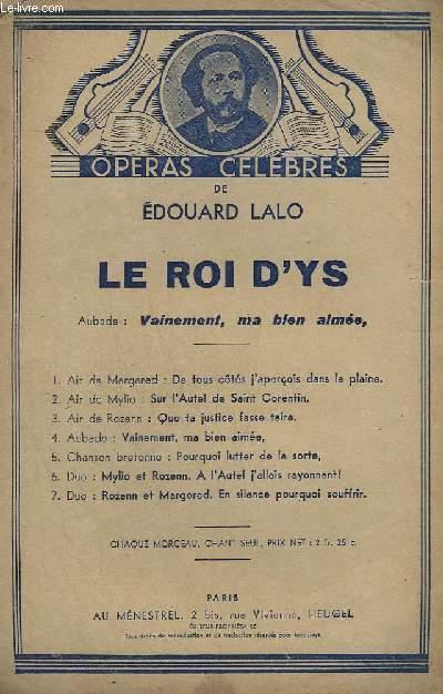 LE ROI D'YS - CHANT.