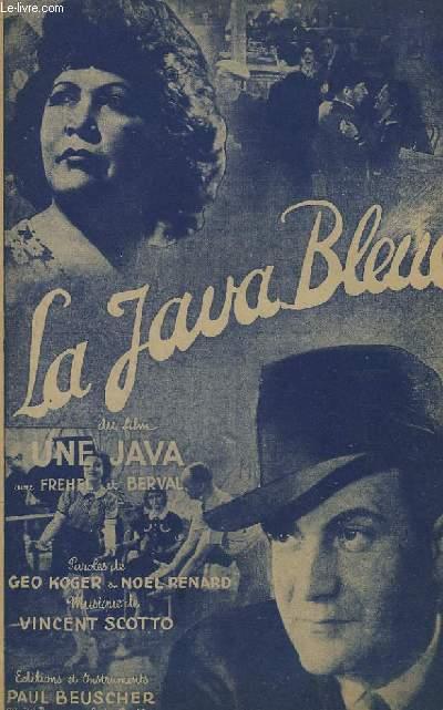 LA JAVA BLEUE - CHANT.