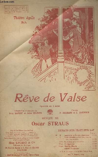 REVE DE VALSE - N°7 : CHANT.