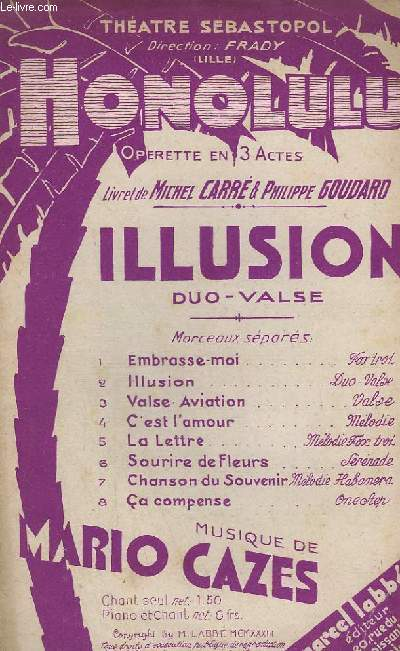 ILLUSION -  HONOLULU CHANT N°2.
