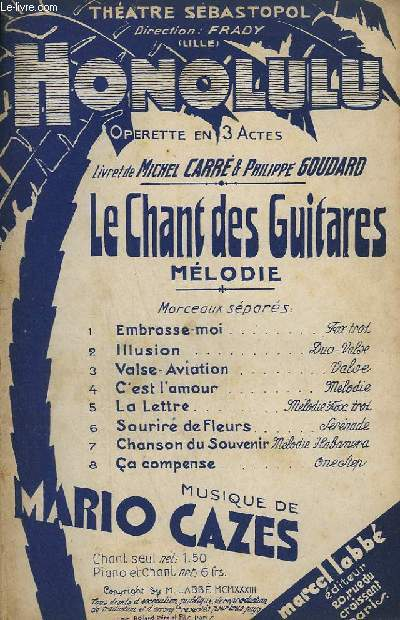 LE CHANT DES GUITARES - CHANT.
