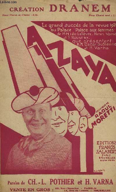 AZAYA ! - CHANT.
