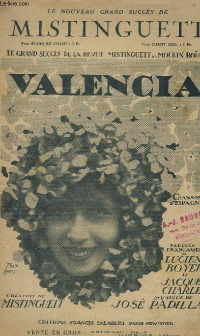 VALENCIA - CHANT.