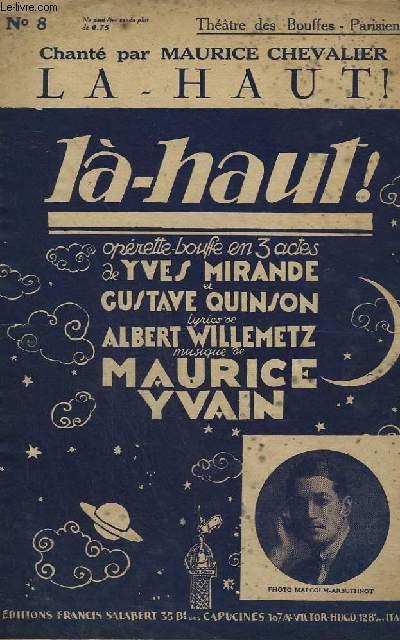 LA HAUT ! - CHANT.