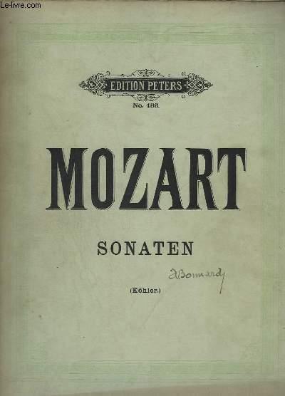 SONATEN - N°486 - FUR PIANOFORTE SOLO.