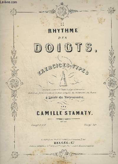 LE RYTHME DES DOIGTS - EXERCICES TYPES.