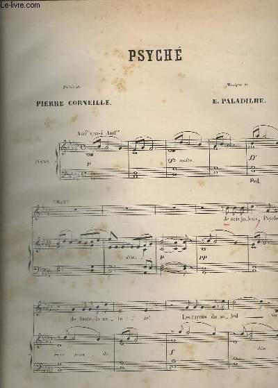 PSYCHE - PIANO + CHANT.