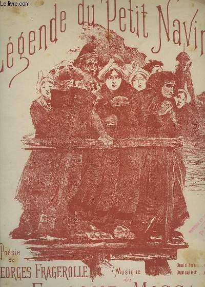 LEGENDE DU PETIT NAVIRE - PIANO + CHANT.