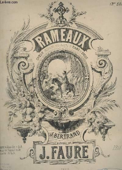 LES RAMEAUX - N°2 : SOPRANO OU TENOR - HYMNE POUR PIANO + CHANT.