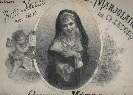 SUITE DE VALSES POUR PIANO SUR LA MARJOLAINE.