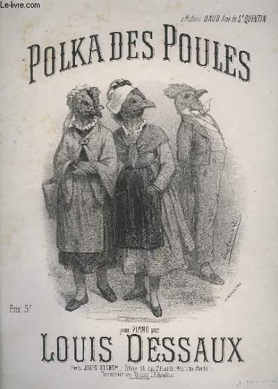 POLKA DES POULES - POUR PIANO.