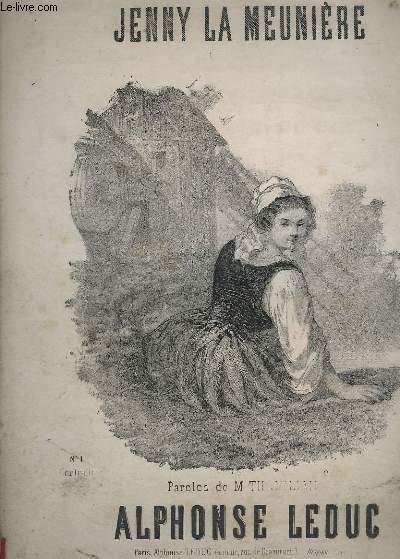 JENNY LA MEUNIERE - N°1 : CONTRALTO - PIANO + CHANT.
