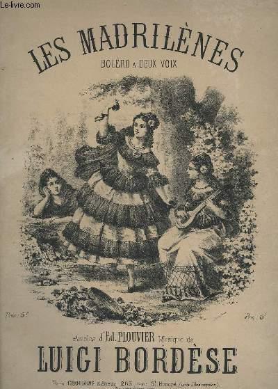 LES MADRILENES - BOLERO A 2 VOIX + PIANO.