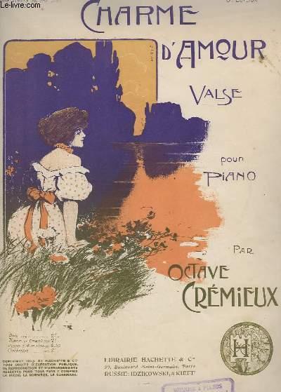 CHARME D'AMOUR - VALSE POUR PIANO.