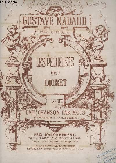 LES PECHEUSES DU LOIRET - PIANO + CHANT.
