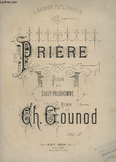 PRIERE - PIANO + CHANT.