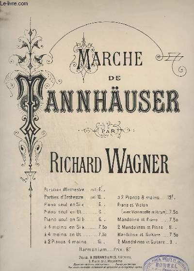 MARCHE DE TANNHAUSER - PIANO.