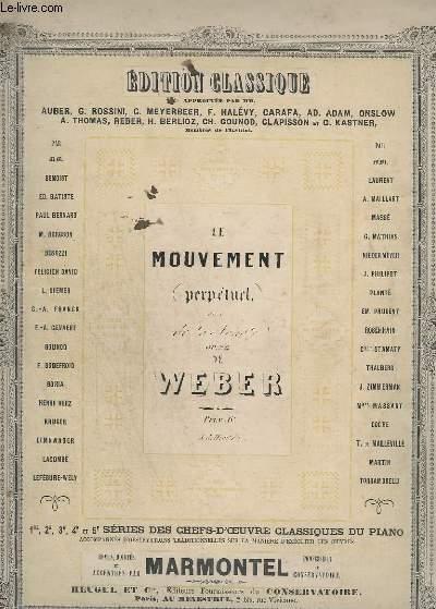 LE MOUVEMENT PERPETUEL - OP.24 - PIANO.