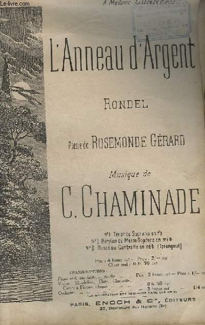 L'ANNEAU D'ARGENT - CHANT.