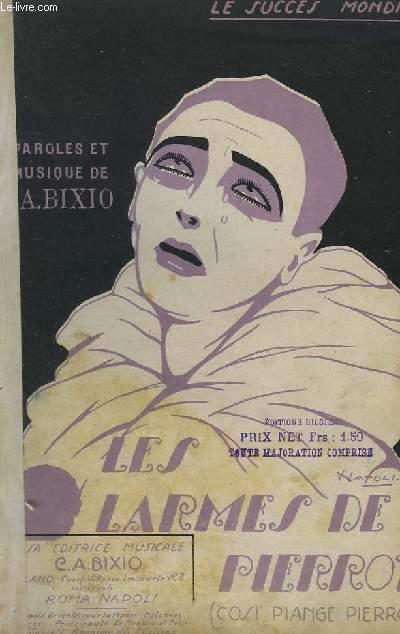 LES LARMES DE PIERROT - CHANT.