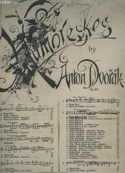 HUMORESKE - POUR PIANO OP.101.