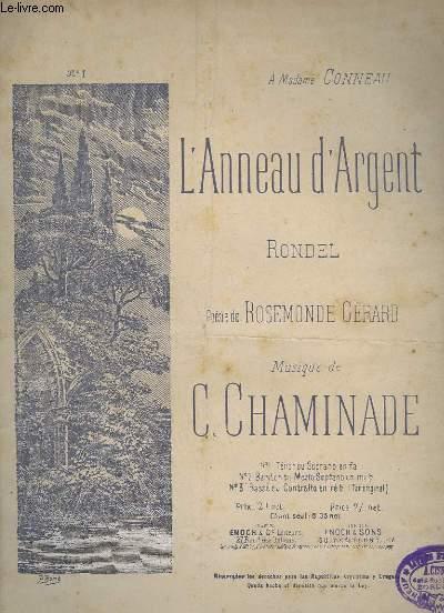L'ANNEAU D'ARGENT - PIANO ET CHANT.