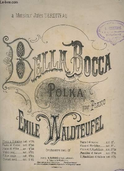 BELLA BOCCA - POLKA POUR PIANO.