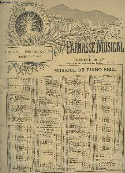 COMPOSITIONS POUR PIANO A 2 MAINS - N°14 : LA MATINEE.