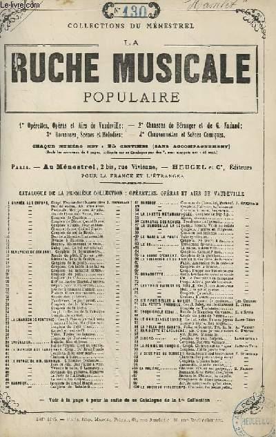 LA RUCHE MUSICALE POPULAIRE - N°130 : HAMLET DUO.