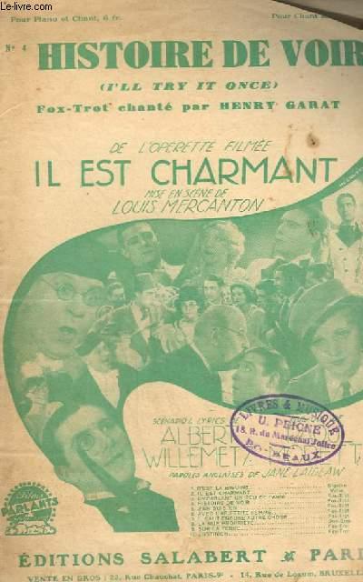 HISTOIRE DE VOIR N°4 - CHANT.
