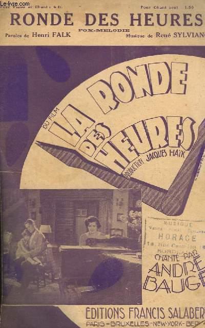 RONDE DES HEURES - CHANT.