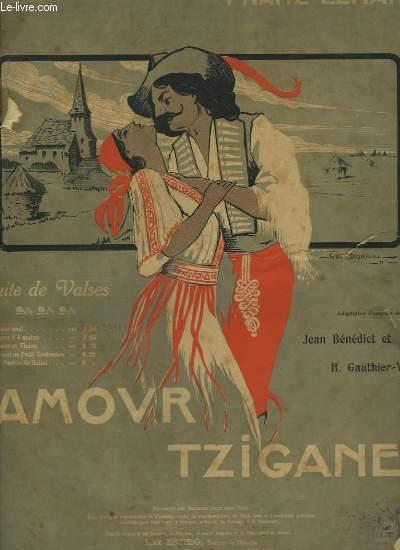 AMOUR TZIGANE - SUITE DE VALSES POUR PIANO.