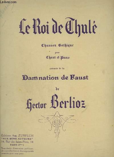 LE ROI DU THULE - CHANSON CATHOLIQUE POUR CHANT ET PIANO.
