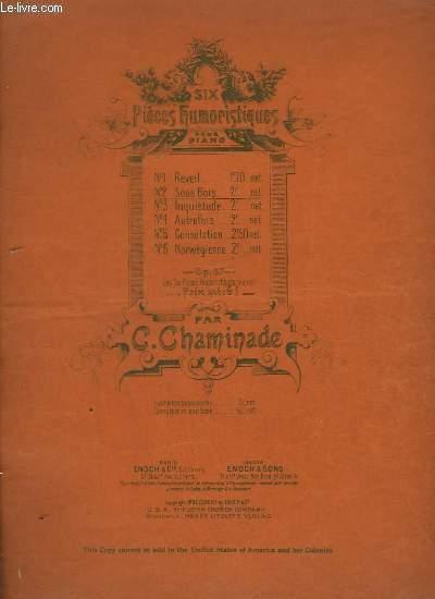 6 PIECES HUMORISTIQUES - N°2 : SOUS BOIS - POUR PIANO.