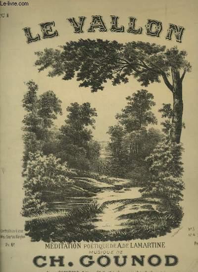 LE VALLON - N°1 : MEDITATION POETIQUE - PIANO ET CHANT.