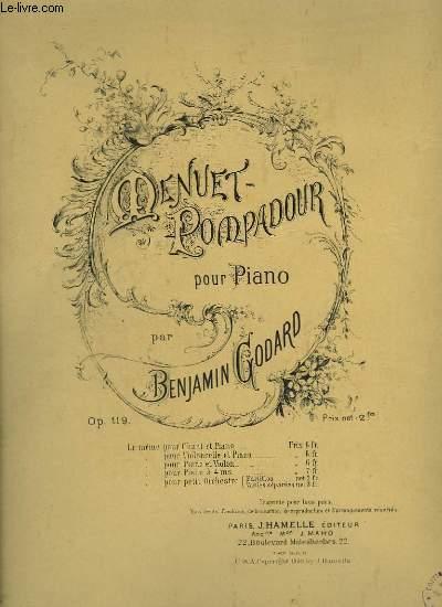 MENUET POMPADOUR - PIANO.