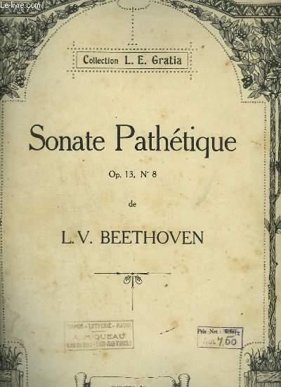 SONATE PATHETIQUE - OP.13 N°18.