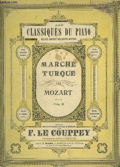MARCHE TURQUE - PIANO.