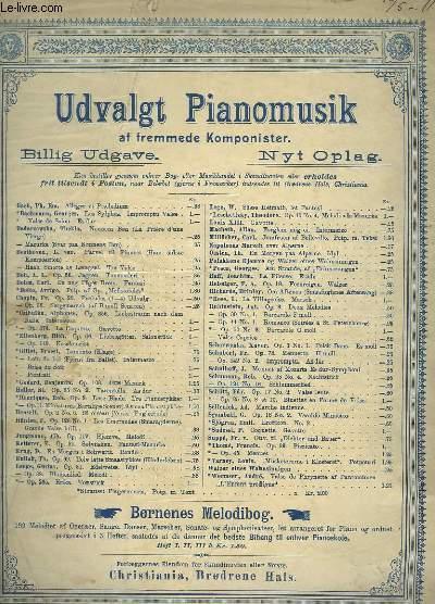 SCHLUMMERLIED - PIANO.