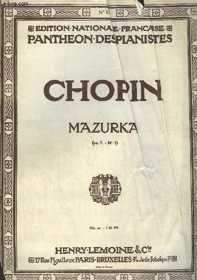 MAZURKA - N° 1 OP.7.