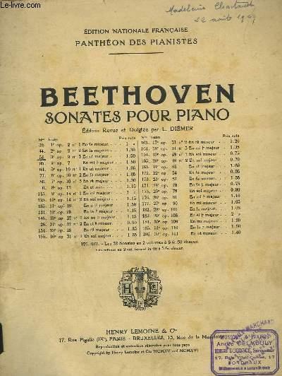 SONATES POUR PIANO - N°54 : 3° CONATE OP.2 N°3 EN UT MAJEUR.