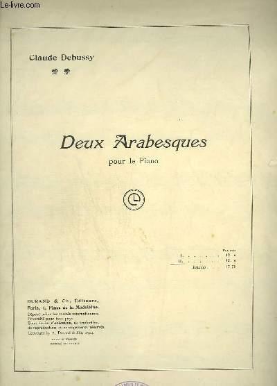 DEUX ARABESQUES POUR LE PIANO : ARABESQUE N°2.