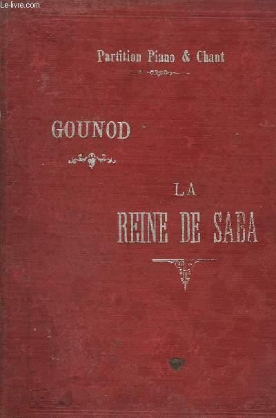 LE REINE DE SABA - PARTITION PIANO ET CHANT.