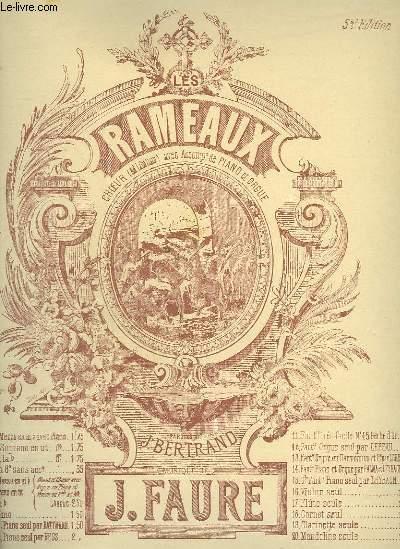 LES RAMEAUX - HYMNE - CHANT BARYTON OU MEZZO SOPRANO + PIANO.