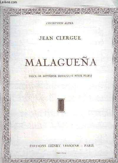 MALAGUENA - PIECE DE MOYENNE DIFFICULTE POUR PIANO.