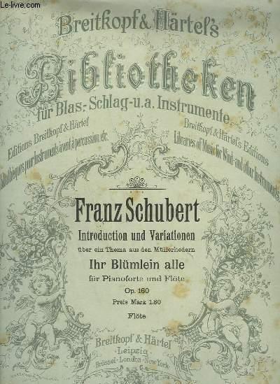 INTRODUCTION UND VARIATIONEN - IHR BLÜMLEIN ALLE - FLAUTO + PIANO