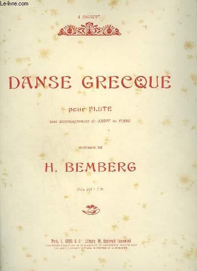 DANSE GRECQUE - FLUTE + PIANO.