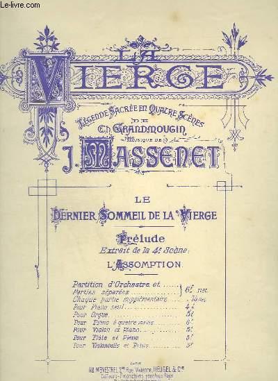 LE DERNIER SOMMEIL DE LA VIERGE - POUR PIANO ET VIOLONCELLE.
